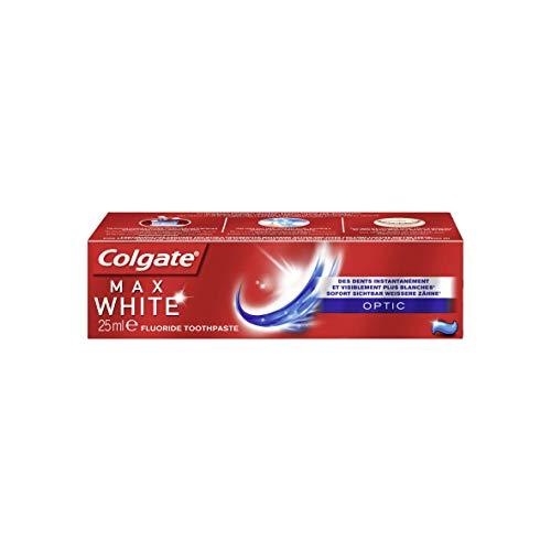 Colgate Max White Optic Zahnpasta 3er Pack (3 x 25 ml)