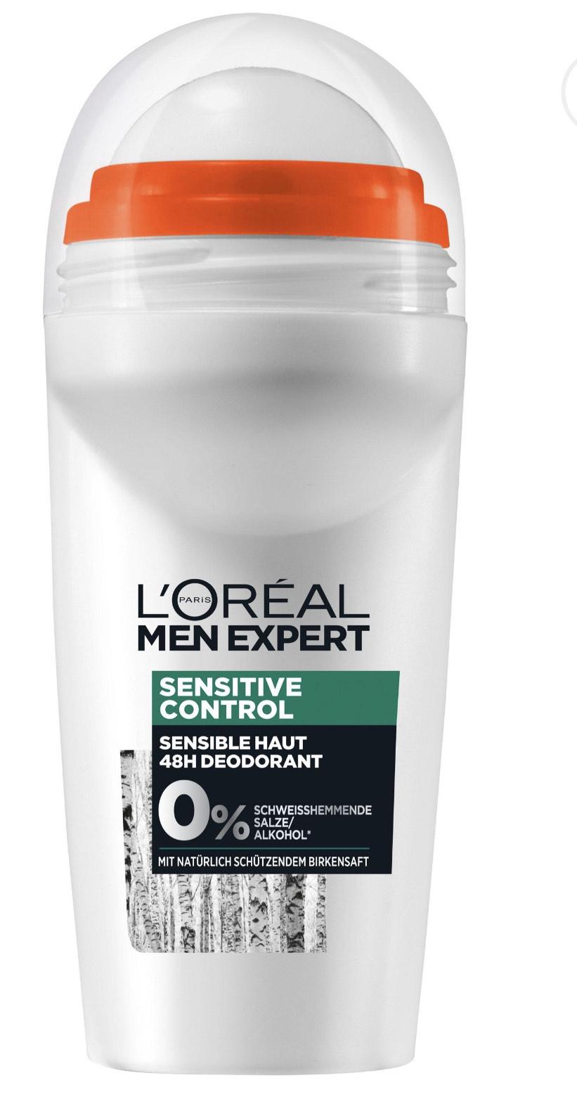 5x L'Oréal Men Expert Deodorant verschiedene Varianten