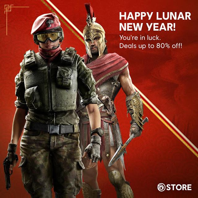 Ubisoft Store - Lunar Sale (bis zu -80% Rabatt auf fast alle Artikel)
