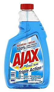 4x Ajax Triple Action Nachfüllpack Regular 750 ml