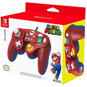 HORI Nintendo Switch Battle Pad Mario Controller im GameCube-Stil (Switch)