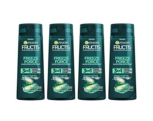 [Amazon] Garnier Fructis Freeze Force 3 in 1 Aloe Herren Haarshampoo 250 ml – 4 Stück um 3,27€