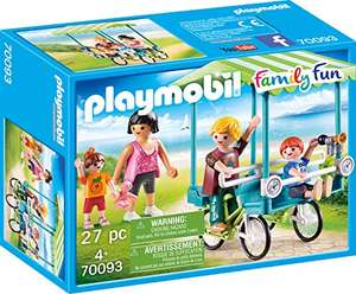 Preisjäger Junior: Playmobil Family Fun - Familien-Fahrrad