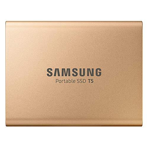 Samsung Portable SSD T5 gold 1TB, USB-C 3.1 (MU-PA1T0G)