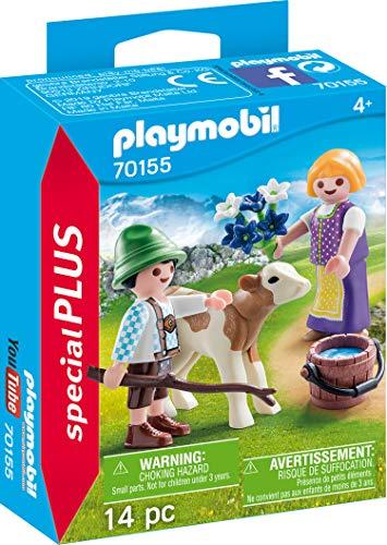 Playmobil 70155 Special 2 Kinder mit Kälbchen u.a. Sets um 2€