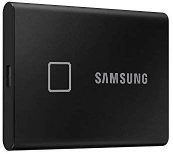 Samsung Portable SSD T7 Touch schwarz 1TB, USB-C 3.1