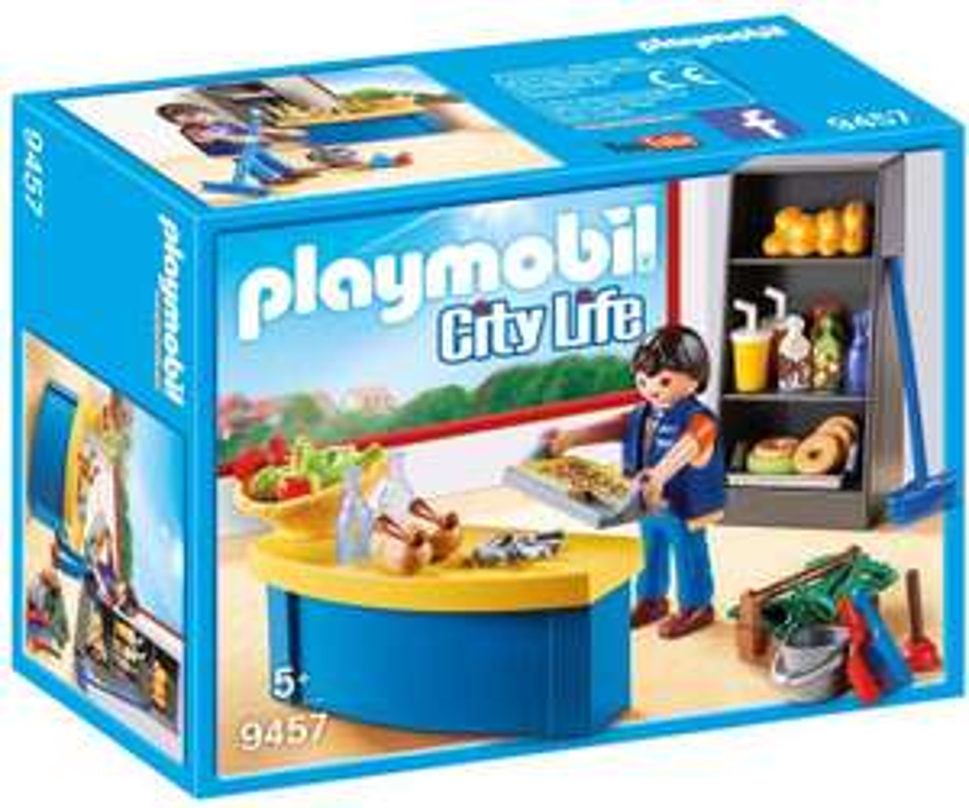 [Amazon] Playmobil 9457 City Life Hausmeister mit Kiosk um nur 5,05€