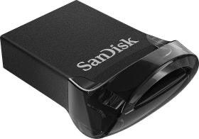 SanDisk Ultra Fit 128 GB Flashlaufwerk USB 3.1 bis zu 130MB/Sek. Lesen