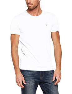 GANT Herren The Original Slim T-Shirt (S - 3XL) (blau oder weiß)