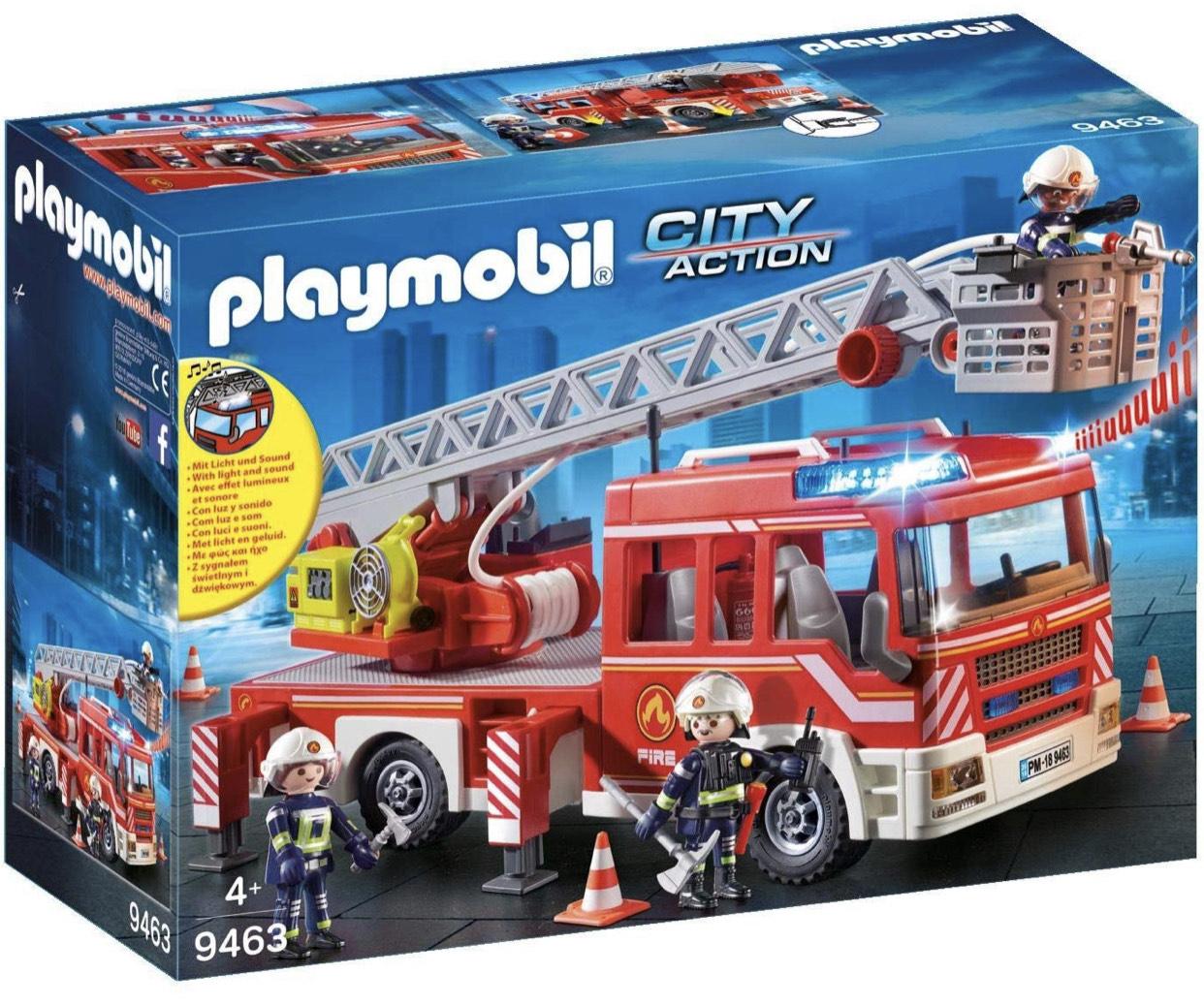 Playmobil City Action - Feuerwehr-Leiterfahrzeug (9463)