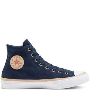 Converse Unisex Vachetta Leather Trim Chuck Taylor All Star High Top