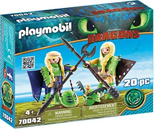 Preisjäger Junior: Playmobil Dragons - Raffnuss und Taffnuss mit Fluganzug