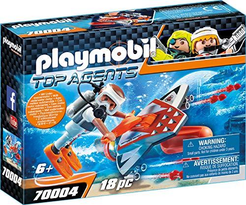 Playmobil - Top Agents Spy Team Underwater Wing inkl. Unterwassermotor