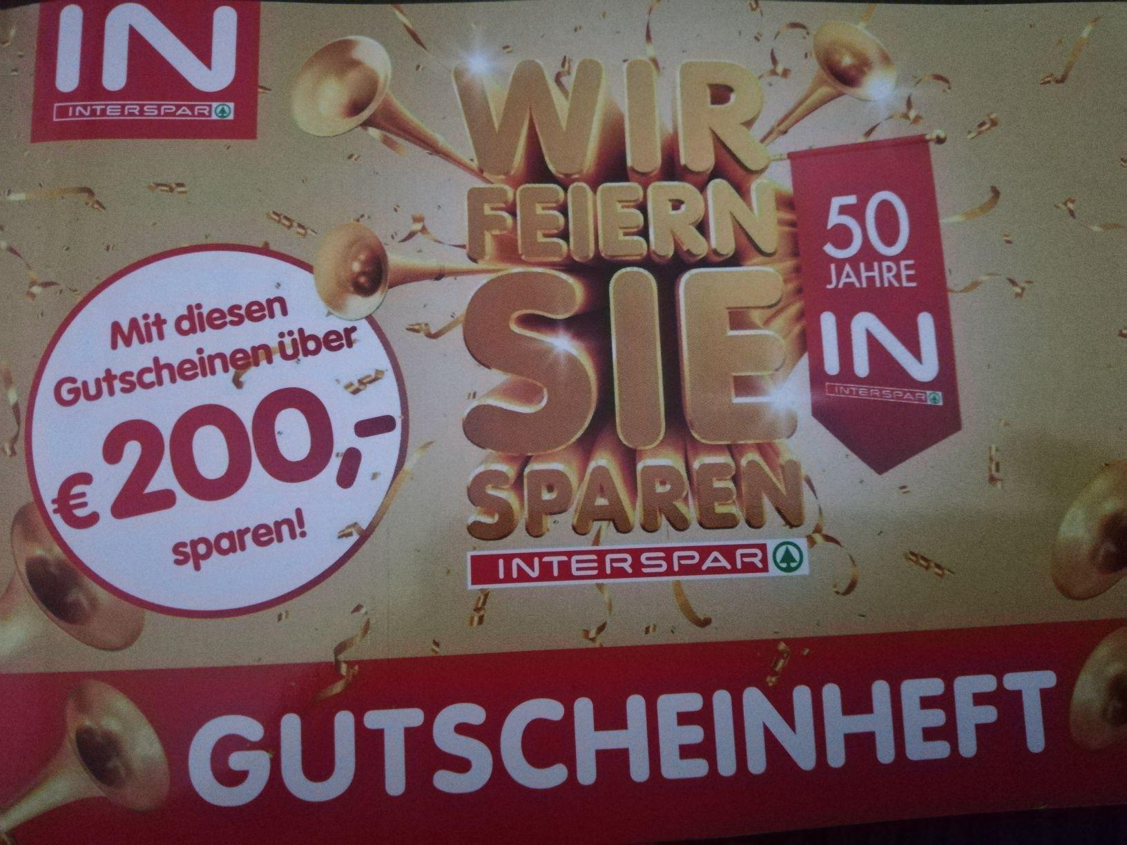 INTERSPAR GutscheinHeft ab 30.1.