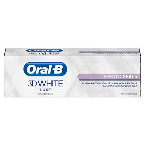 [Amazon] Oral-B 3D Denticfrica White Luxecon Effekt Perle - 4 x 75 ml - 4 Stück um 4,26€