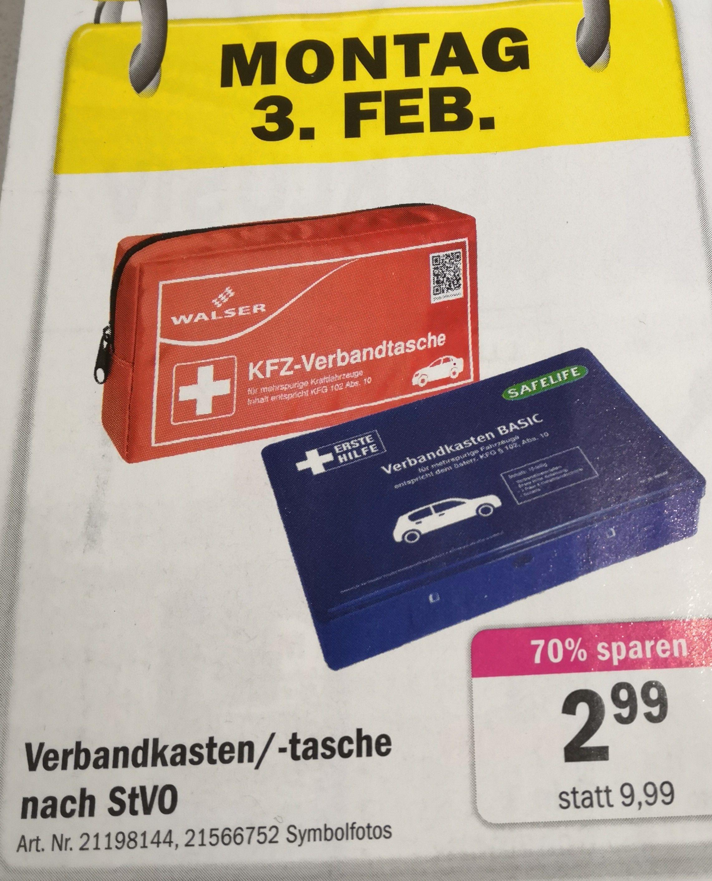 Forstinger: Walser KFZ-Verbandtasche nach Stvo (nur am 3.2.)