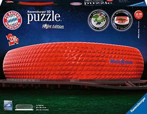 Ravensburger - Puzzle 3D - Building - Allianz Arena