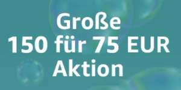 DVDs & Blu-rays: € 150,— für € 75,— Aktion