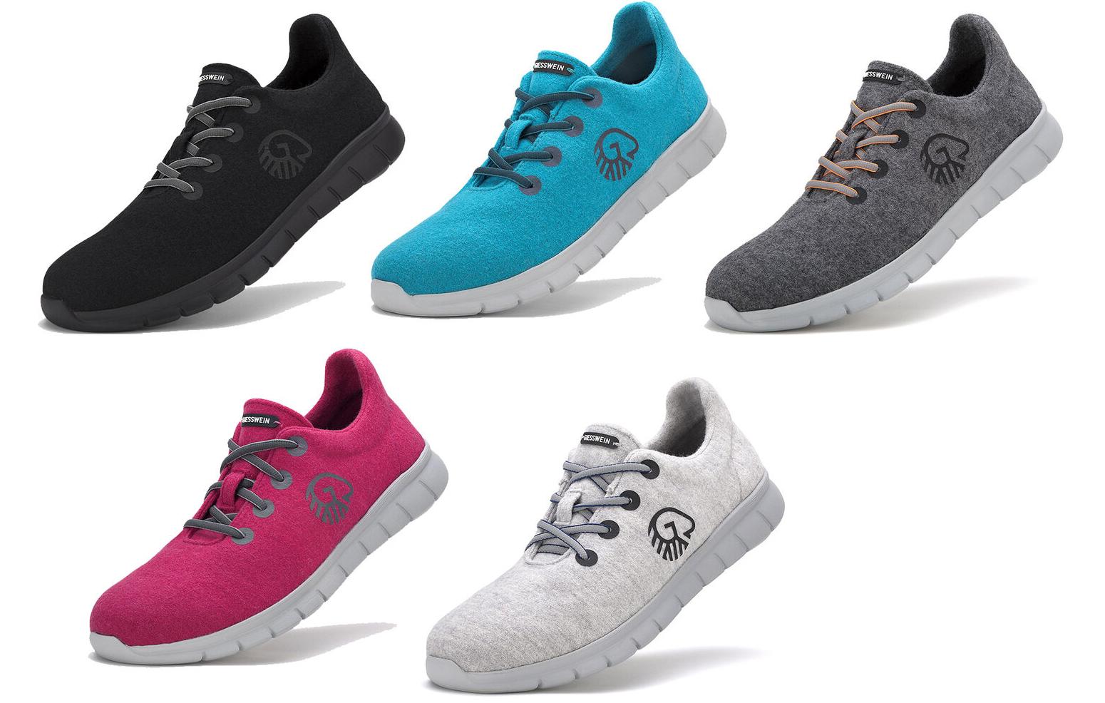 Giesswein Merino Runners, Damen & Herren Sneakers