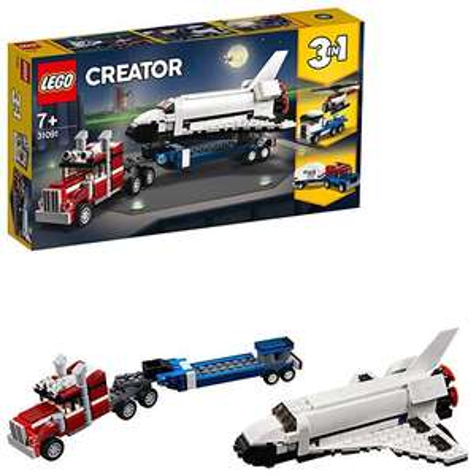 LEGO Creator 31091 - Transporter für Space Shuttle