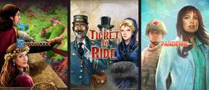 Carcassonne & Ticket to Ride