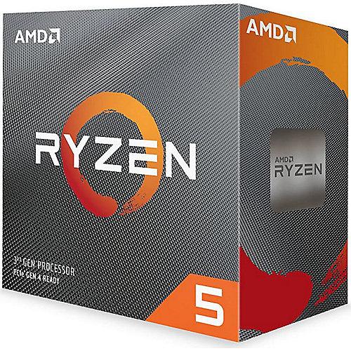 AMD Ryzen 5 3600 (6x 3,6GHz) 32MB Sockel AM4 CPU BOX (Wraith Stealth Kühler)