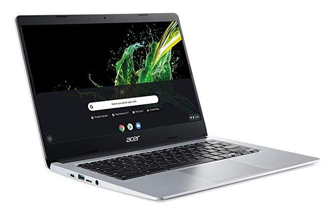 Acer Chromebook 314 14 Zoll Notebook (Aluminium Unibody, 1.5kg, Intel Celeron N4100, 4GB RAM, Intel UHD Graphics 600, Chrome OS)