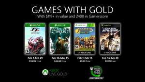 Games with Gold Februar [XBOX ONE]