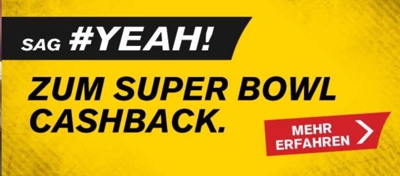 Interwetten: Super Bowl wetten, im Verlustfall Einsatz (bis 10€) zurückerhalten