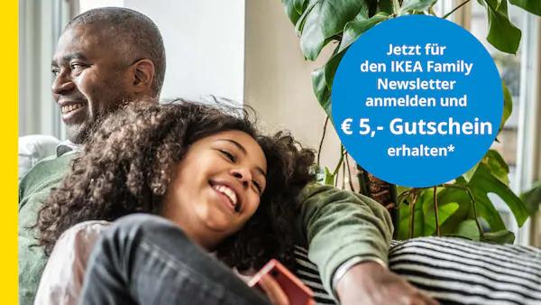 IKEA 5€ für Newsletter Anmeldung
