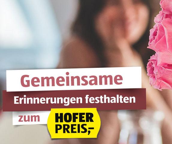 5€ Valentinstag Rabatt bei Hofer Fotos (MBW 20€)