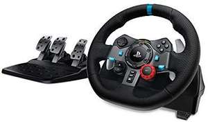 Logitech G29 Racing Lenkrad Driving Force mit Pedale-Set (PS4 & PC)