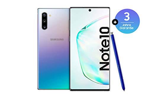 Samsung Galaxy Note 10 Smartphone 256GB interner Speicher, 8GB RAM, Dual SIM, Android Aura Glow inkl. 3J Garantie um 654,45€