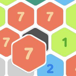 Up to 8! Merge Block In Hexa Lines Puzzle für Android