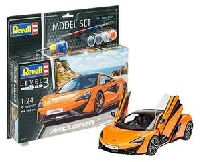 Revell Modellbausatz Auto 1:24 - McLaren 570S
