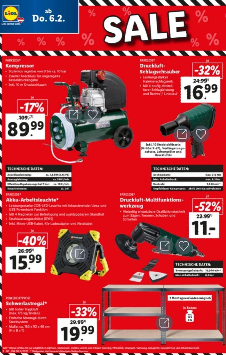 Lidl Werkzeug Sale