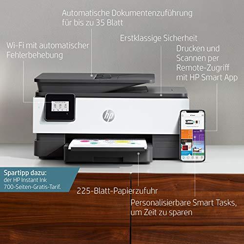 HP OfficeJet 8012 inkl. 2 Monate Instant Ink