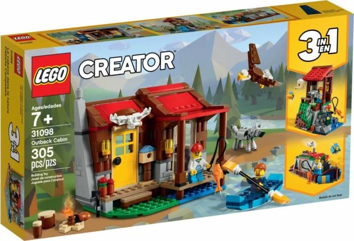 @Müller LEGO Creator 3in1 - 31098 Outback-Hütte um 19,99€