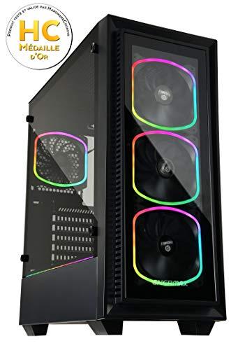 Enermax StarryFort SF30 mit Echtglas Seitenteil und RGB Beleuchtung
