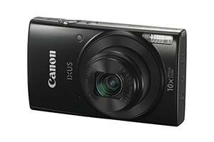 Canon IXUS 190 Digitalkamera (20 MP, 10x optischer Zoom, 2,7 Zoll LCD Display, WLAN, NFC, HD Movies)