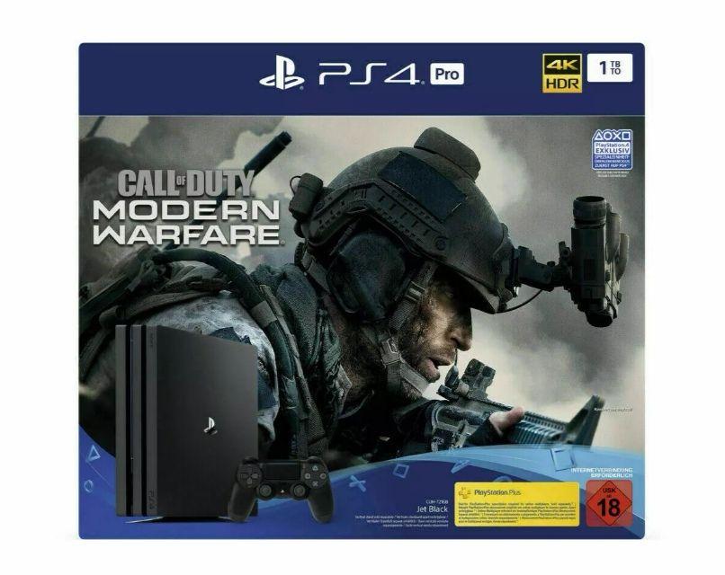 PS4 Pro mit Modern Warfare