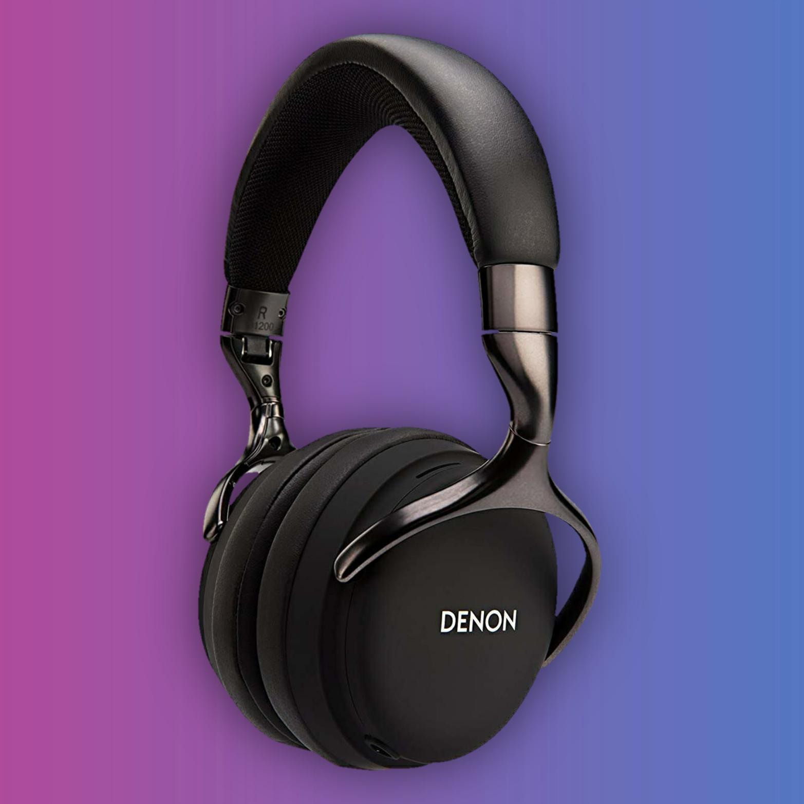 Denon AH-D1200: Geschlossener Over-Ear Kopfhörer (50mm Treiber, 5Hz - 40kHz, 24 Ohm, Mikrofon)