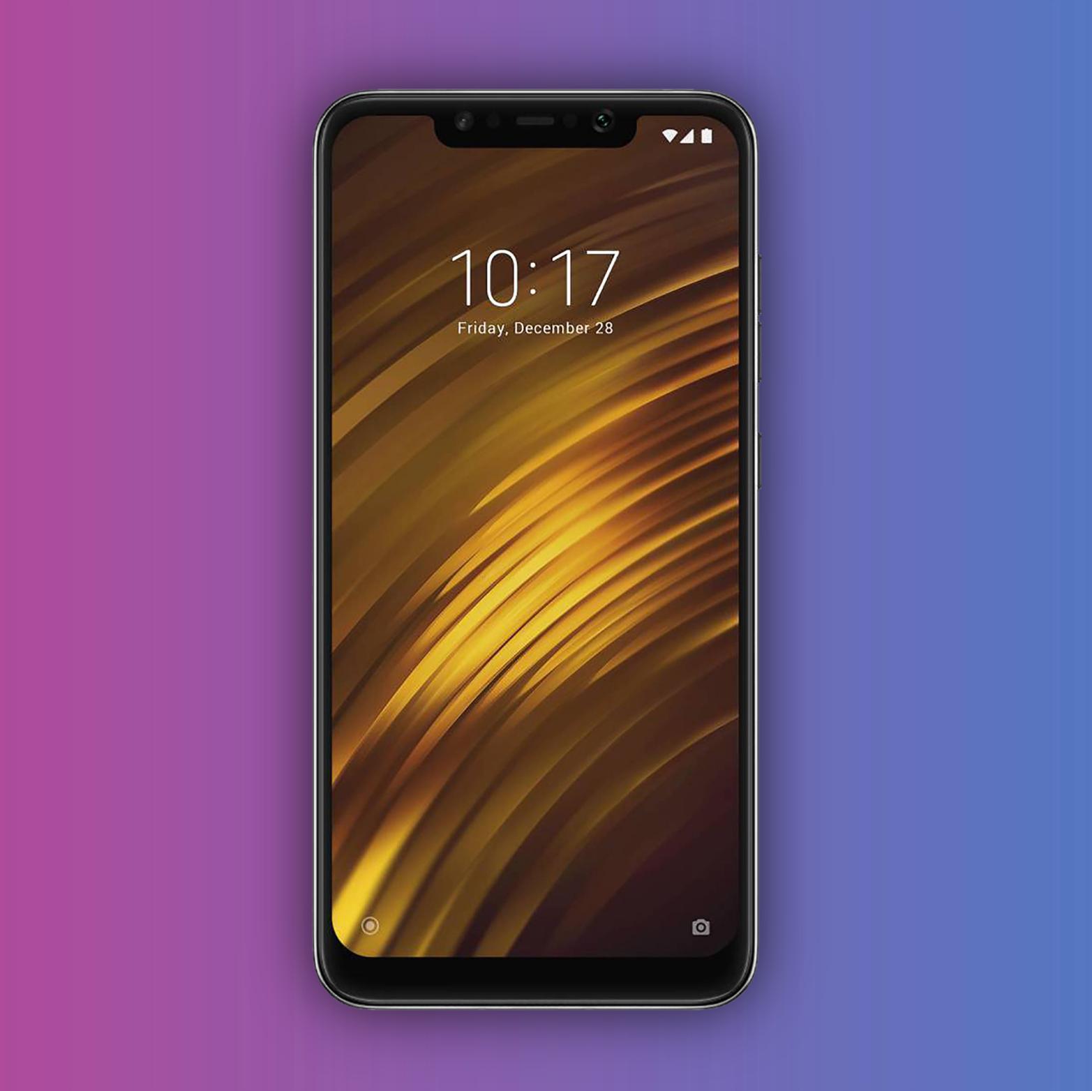 Xiaomi Pocophone F1 64/4GB - Snapdragon 845 - 4000mAh Akku | Europäischer Händler