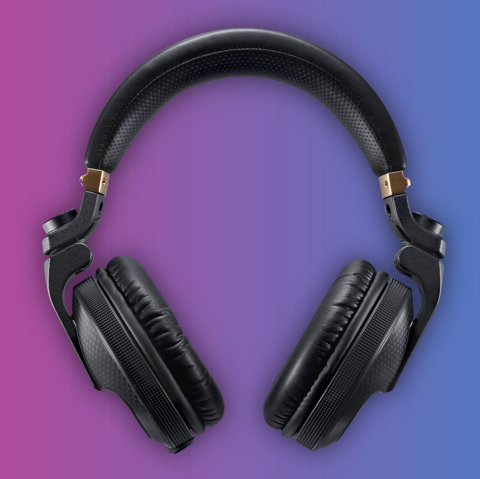 Pioneer HDJ-X10C: Over-Ear Kopfhörer (50mm Treiber, 32Ω, 5Hz - 40kHz, 106dB bei 1mW)