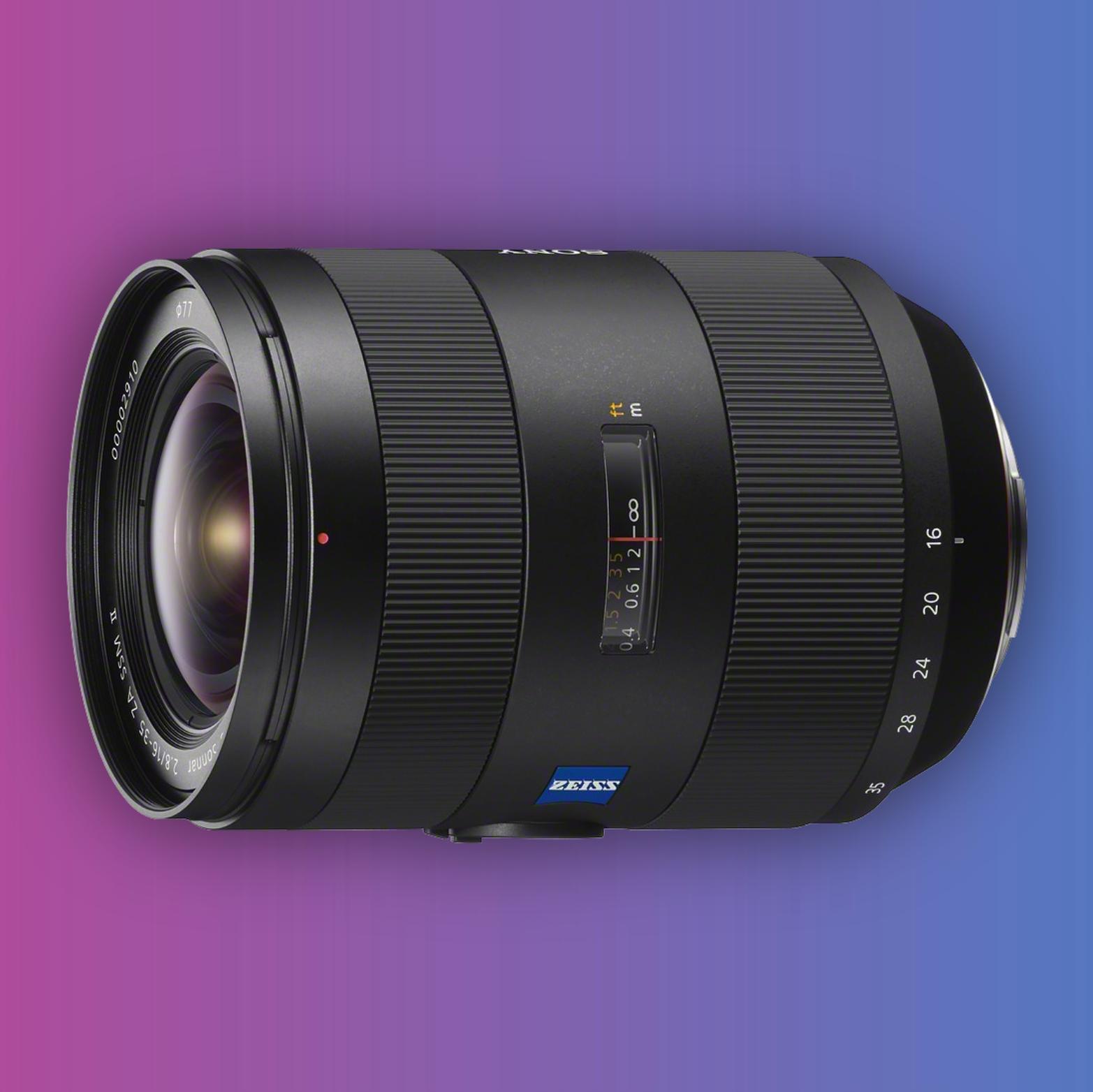 Sony 16-35mm F2.8 CZ Vario-Sonnar T* ED ZA SSM II Weitwinkel Zoom-Objektiv [A-Mount]