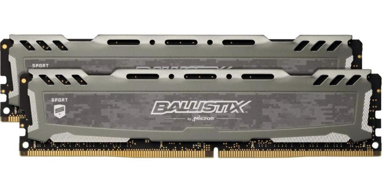 Ballistix Sport LT BLS2K16G4D32AESB 32GB (16GB x2)
