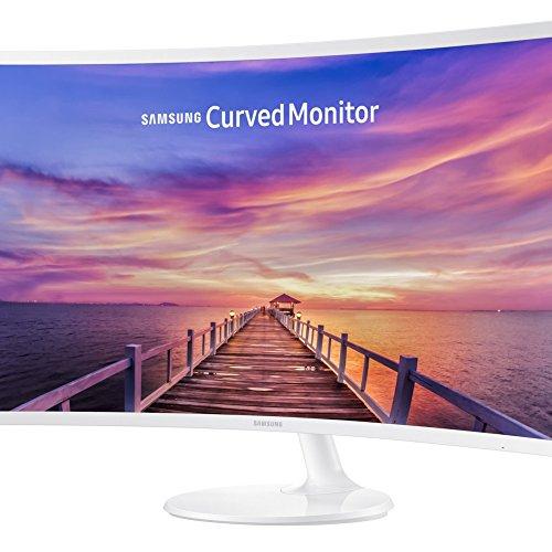 """Samsung C32F391FWU - 32"""" Monitor, curved, weiß"""