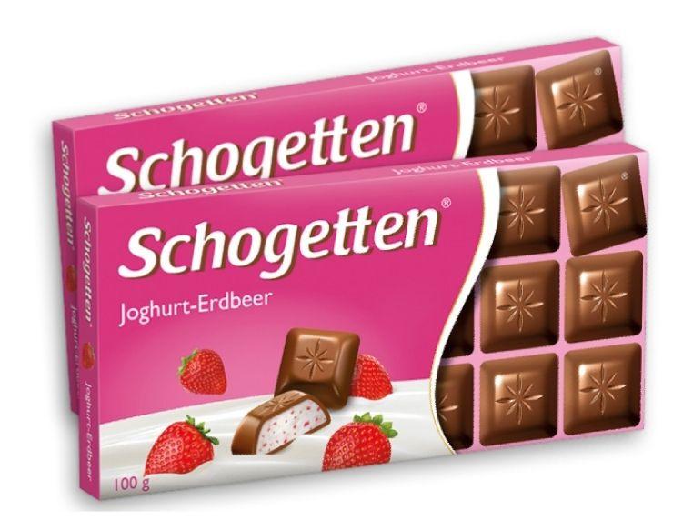 [Krone-Testabo] 2 Tafeln Schogetten Joghurt-Erdbeer GRATIS