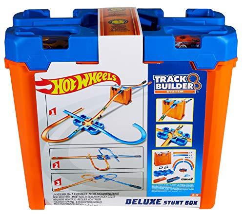 Preisjäger Junior: Hot Wheels - Track Builder Mega Stunt Box