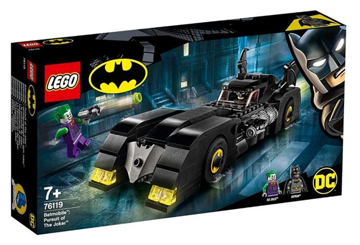 Lego Batmobil - Verfolgungsjagd mit dem Joker